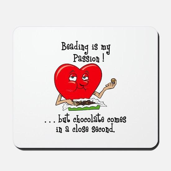 Beading and Chocolate Mousepad