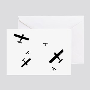 Acrobatic Planes Greeting Cards (Pk of 10)