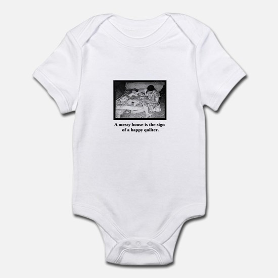 Happy Quilter - Messy House Infant Bodysuit