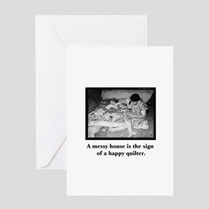 Happy Quilter - Messy House Greeting Card