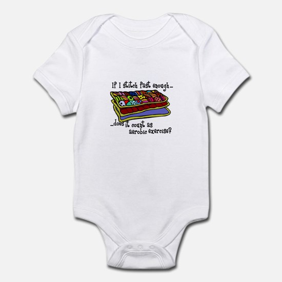 Quilting Aerobics Infant Bodysuit