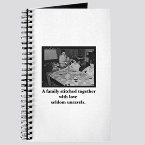 Quilting - Family Stitched Wi Journal