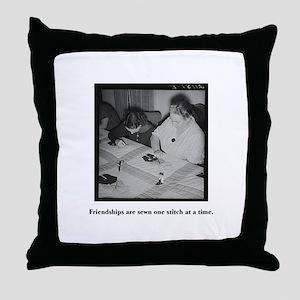 Quilting - Friendship Stitche Throw Pillow