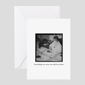 Quilting - Friendship Stitche Greeting Card