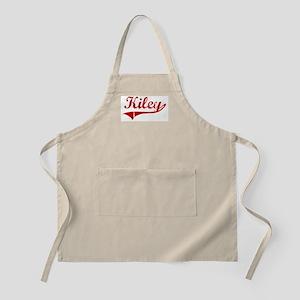 Kiley (red vintage) BBQ Apron