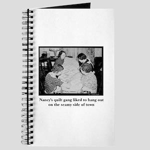 Quilt Gang - Seamy Side Journal