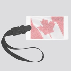 Canadaflag Large Luggage Tag
