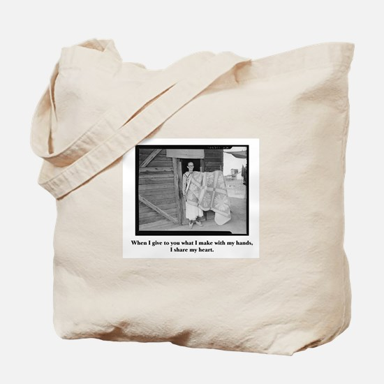 Sewing - From My Hands, My He Tote Bag