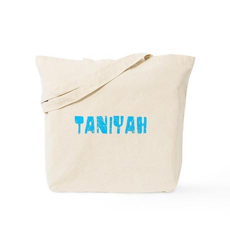 Taniyah Faded (Blue) Tote Bag