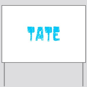 Tate Faded (Blue) Yard Sign