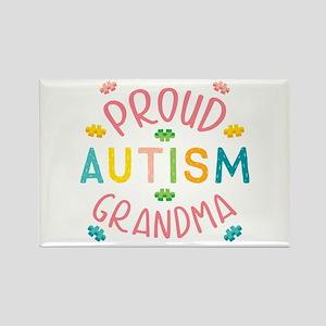 Autism Proud Grandma Magnets