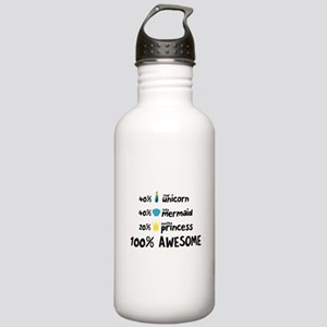 Unicorn mermaid and pr Stainless Water Bottle 1.0L