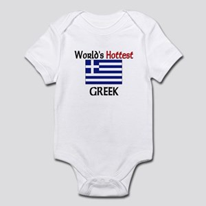 World's Hottest Greek Infant Bodysuit