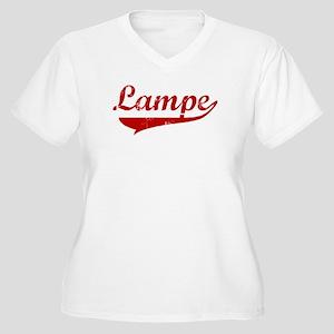 Lampe (red vintage) Women's Plus Size V-Neck T-Shi