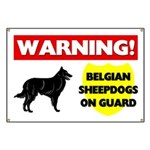 Belgian Sheepdogs On Guard Banner