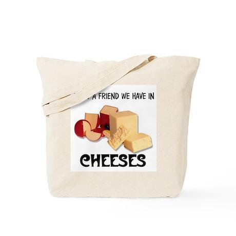CHEESES Tote Bag