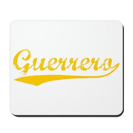 Vintage Guerrero (Orange) Mousepad