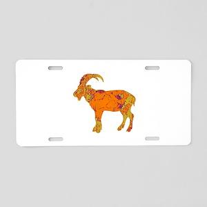 CLIMBER Aluminum License Plate