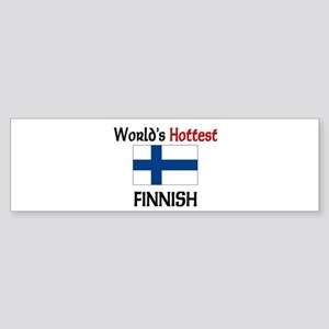 World's Hottest Finnish Bumper Sticker
