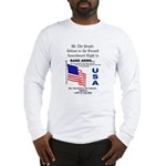 Bare Arms Long Sleeve T-Shirt