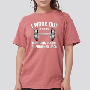 I Work Out Women's Dark T-Shirt