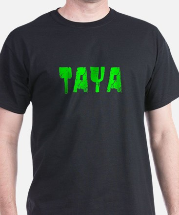 Taya Faded (Green) T-Shirt
