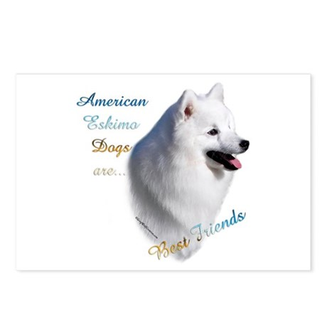 Eskimo Best Friend1 Postcards (Package of 8)