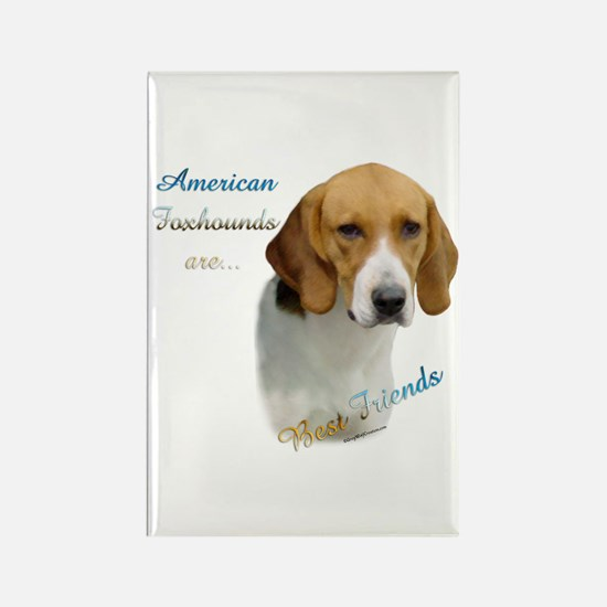 Foxhound Best Friend1 Rectangle Magnet (100 pack)