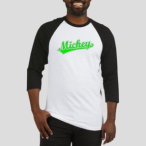 Retro Mickey (Green) Baseball Jersey