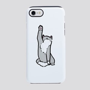 meow stretch iPhone 8/7 Tough Case