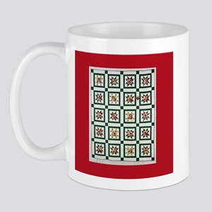 Christmas Holiday Quilt Mug