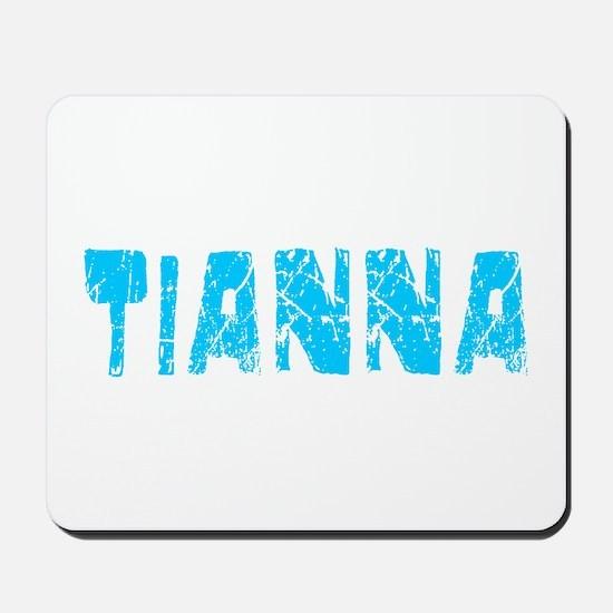Tianna Faded (Blue) Mousepad