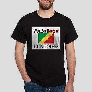 World's Hottest Congolese Dark T-Shirt