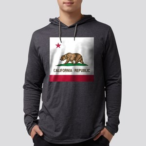 Flag of California Long Sleeve T-Shirt