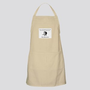 Don't Mess With My Fabric Sta BBQ Apron