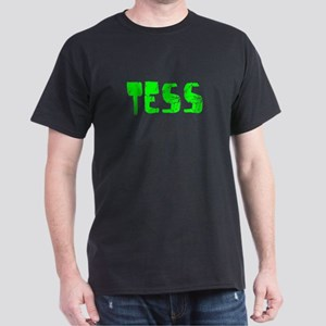 Tess Faded (Green) Dark T-Shirt
