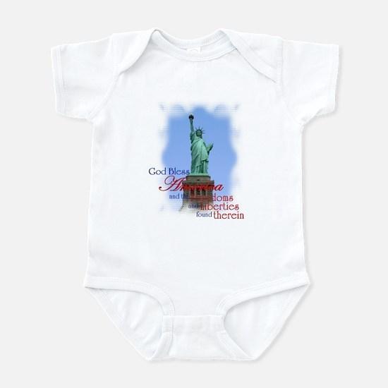 God Bless America - Infant Bodysuit