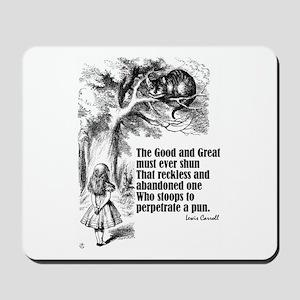 "Carroll ""Good & Great"" Mousepad"