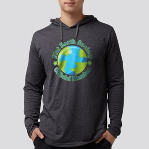 Flat Earth Society Official Me Long Sleeve T-Shirt