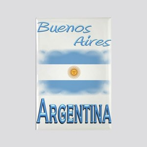 Buenos Aires - Rectangle Magnet