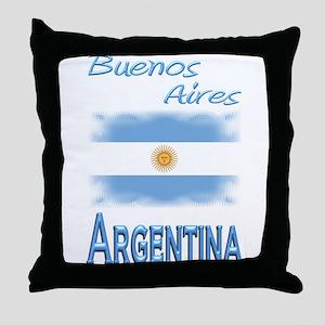 Buenos Aires - Throw Pillow