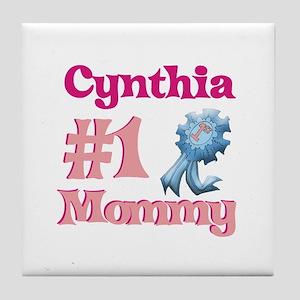 Cynthia - #1 Mommy Tile Coaster
