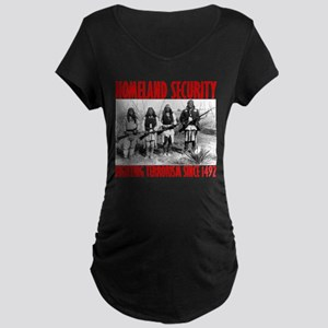homelandsecurity_transparent2 Maternity T-Shirt