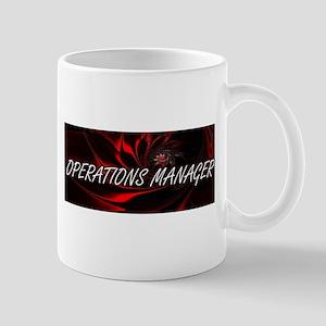 Operations Manager Professional Job Design Mugs