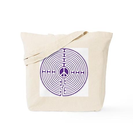 labyrinth - peace Tote Bag