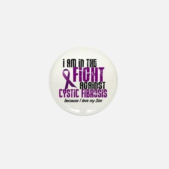 In The Fight Against CF 1 (Son) Mini Button