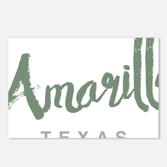 Amarillo Texas Postcards (Package of 8)