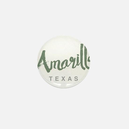 Amarillo Texas Mini Button