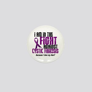In The Fight Against CF 1 (Aunt) Mini Button
