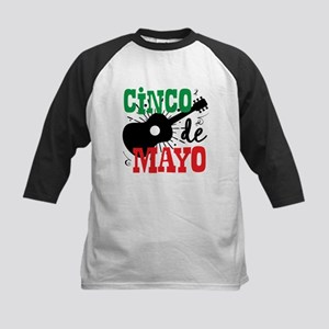 Cinco de Mayo Kids Baseball Tee